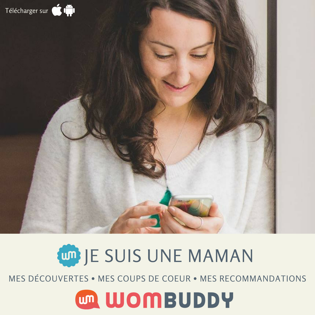 Je suis une maman est sur la nouvelle application Wombuddy-appli-réseau social