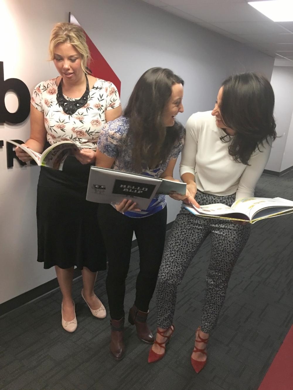 Je suis une maman - Jaime Damak à la télé - Global Montréal - suggestions de livres - look