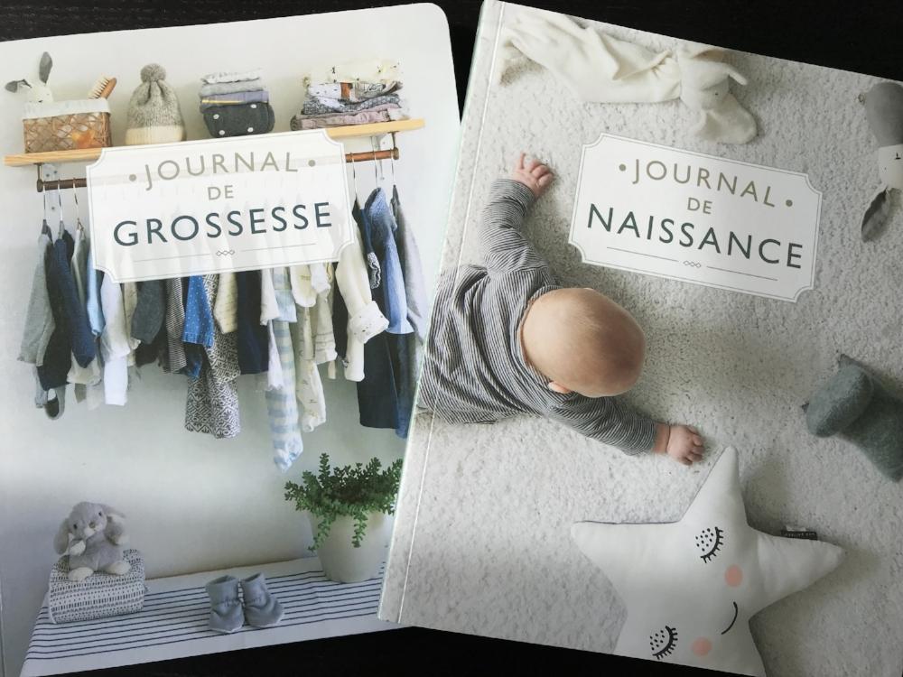 Journal de grossesse-journal de naissance-bébé-cadeau shower-cahier-livre de bébé-Josée-Anne Sarazin-Côté-fait au Québec-être maman-Je suis une maman-Meggie Vaillancourt
