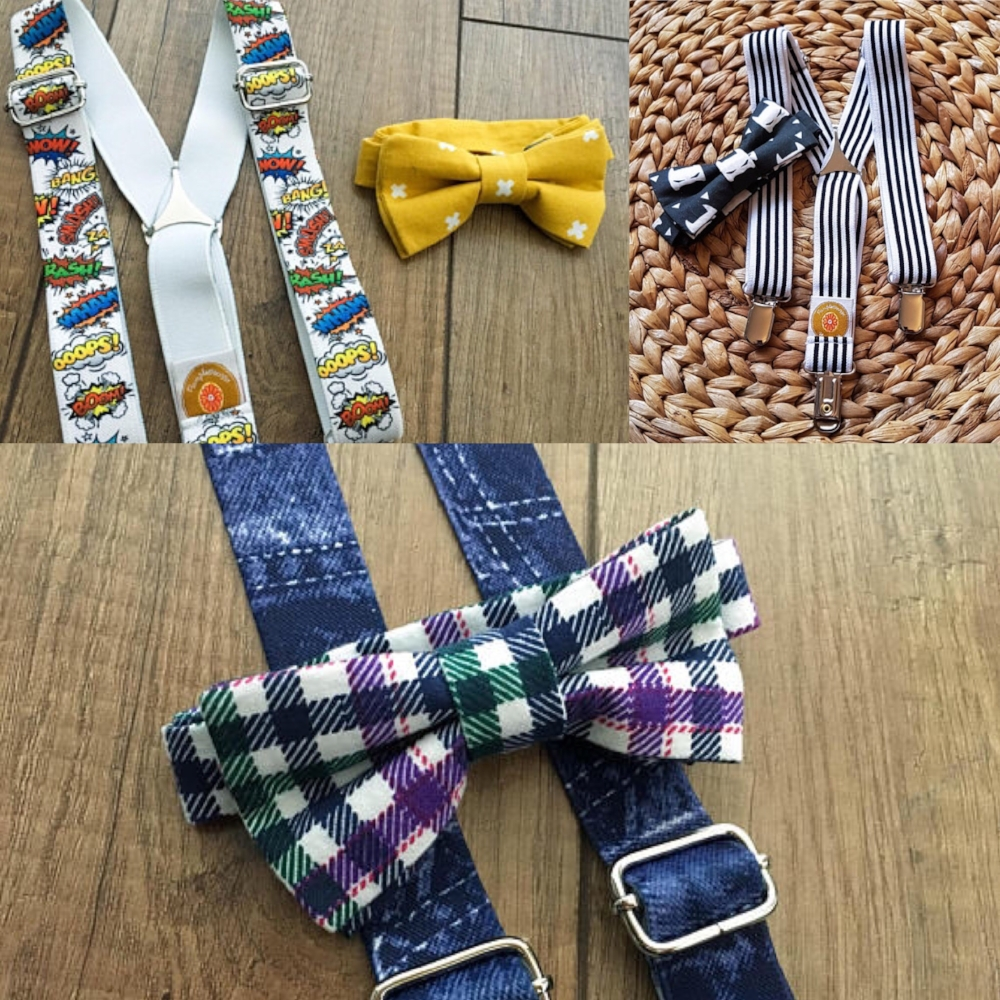 accessoires pour enfants-bébé garçon-jeune homme-noeud papillon-bretelles-mode-look-Style-enfants-Je suis une maman