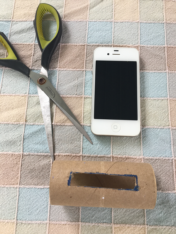 Support à cellulaire-bricolage-pour téléphone-iPhone-Maman Bricole-Bricoler avec les enfants-fête des Pères-DIY-simplicité-cadeau-support pratique-#MamanBricole-Je suis une maman