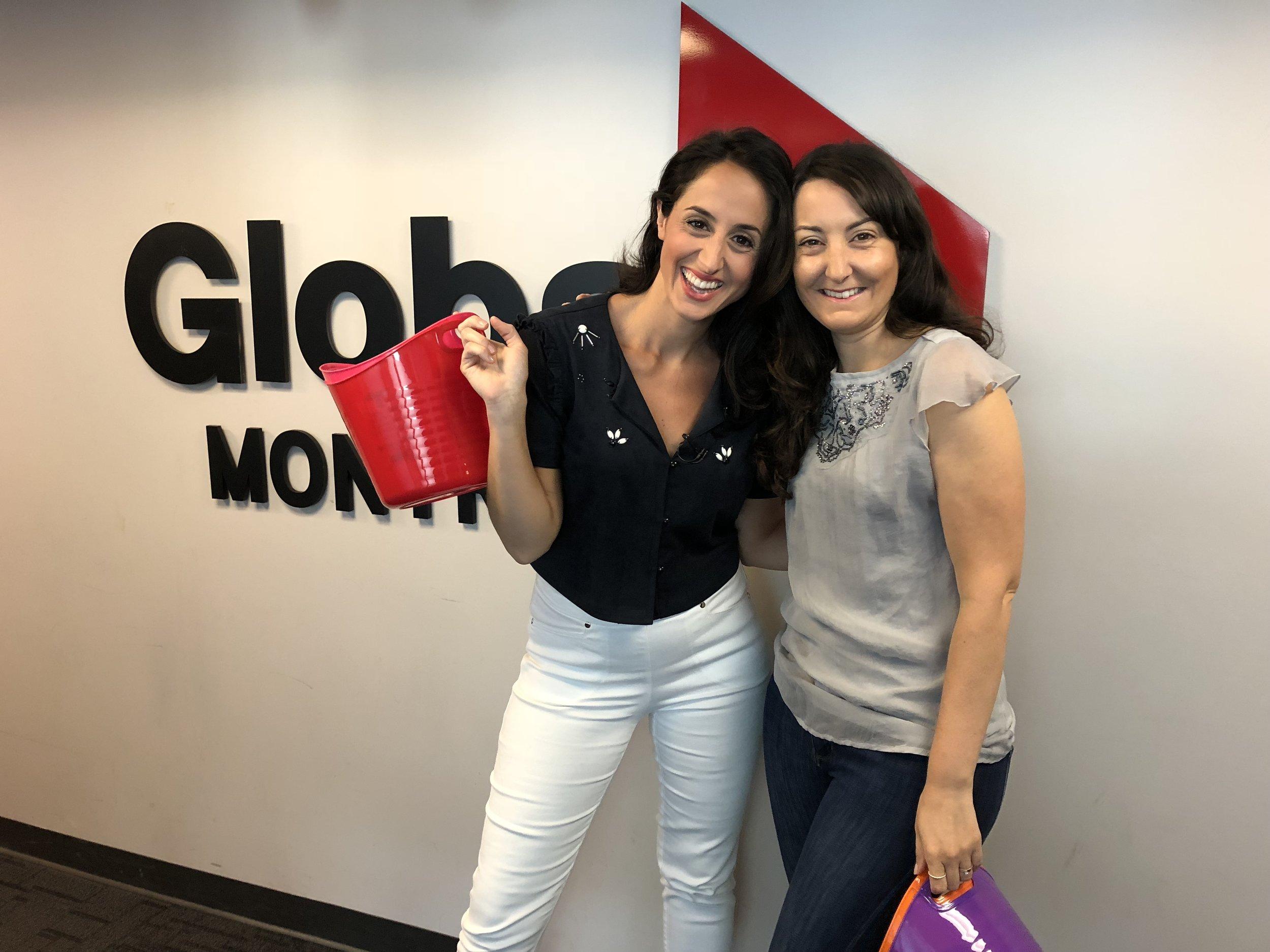 Global Montréal-Media-télévision-chronique télé-Jaime Damak-Laura Casella-déménagement-Swiffer-changement-trucw et astuces-impliquer les enfants-Je suis une maman