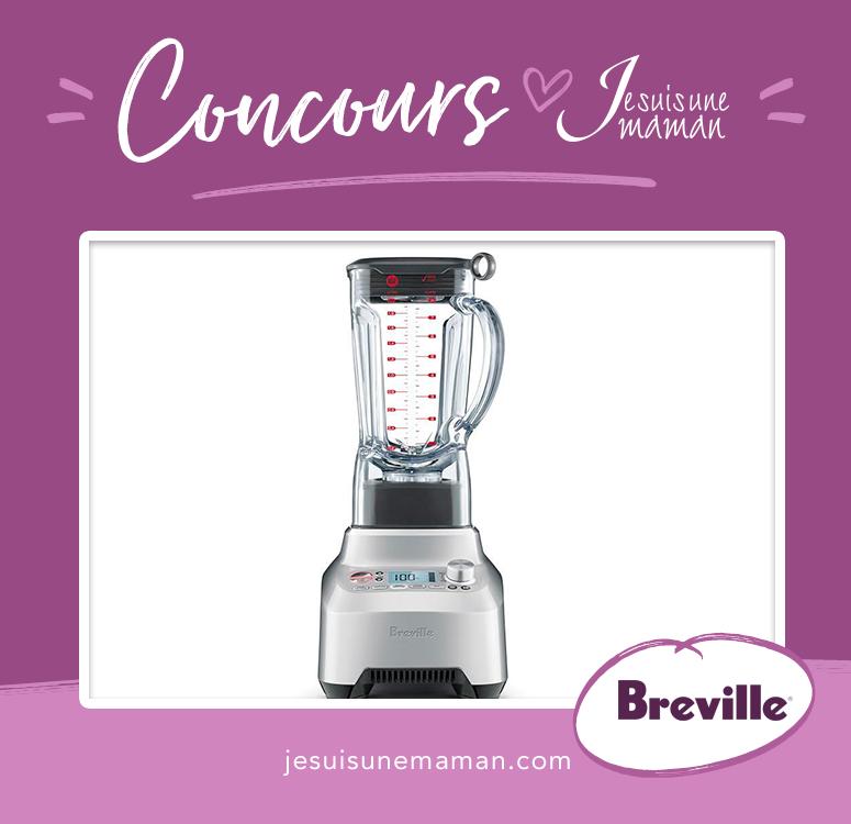 Concours-Breville-Mélangeur Le Boss-smoothie-nouveauté-à gagner-blender-Je suis une maman
