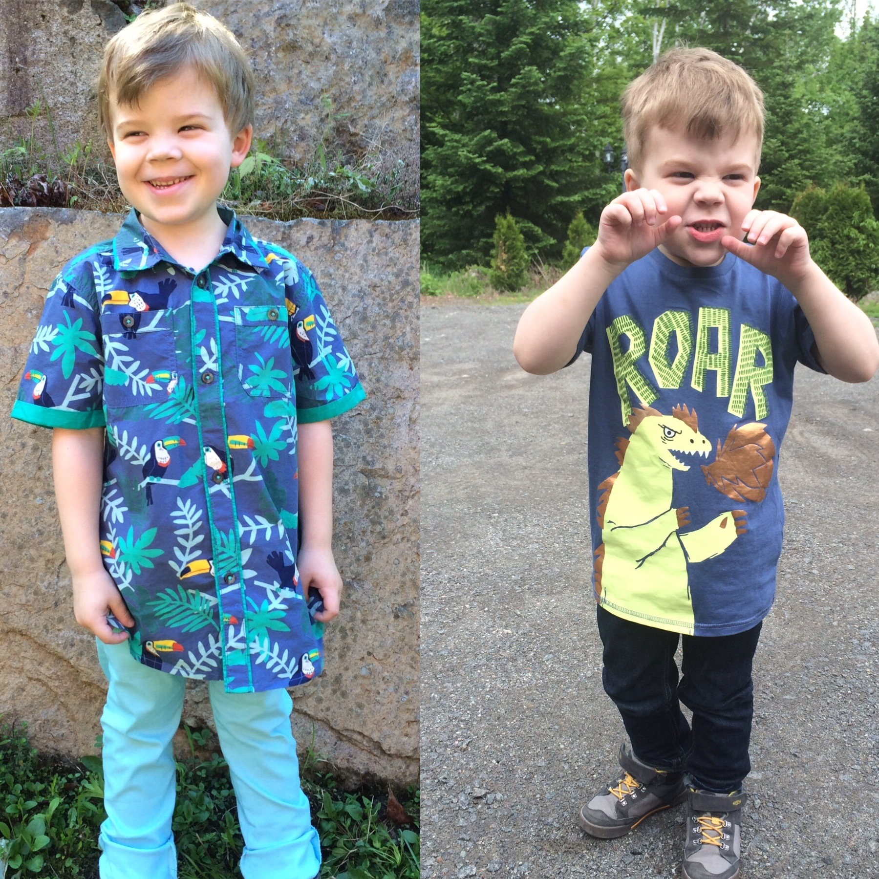 mode enfant-mode juvénile-jeune-enfant-look-magasiner-vêtement à motifs-maman-Je suis une maman