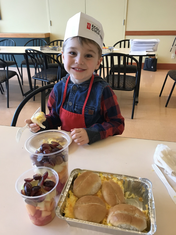 Cours de cuisine-École de cuisine PC-RicarNo-Académie culinaire-atelier de cuisine pour les toutspetits-enfants-Provigo-Je suis une maman