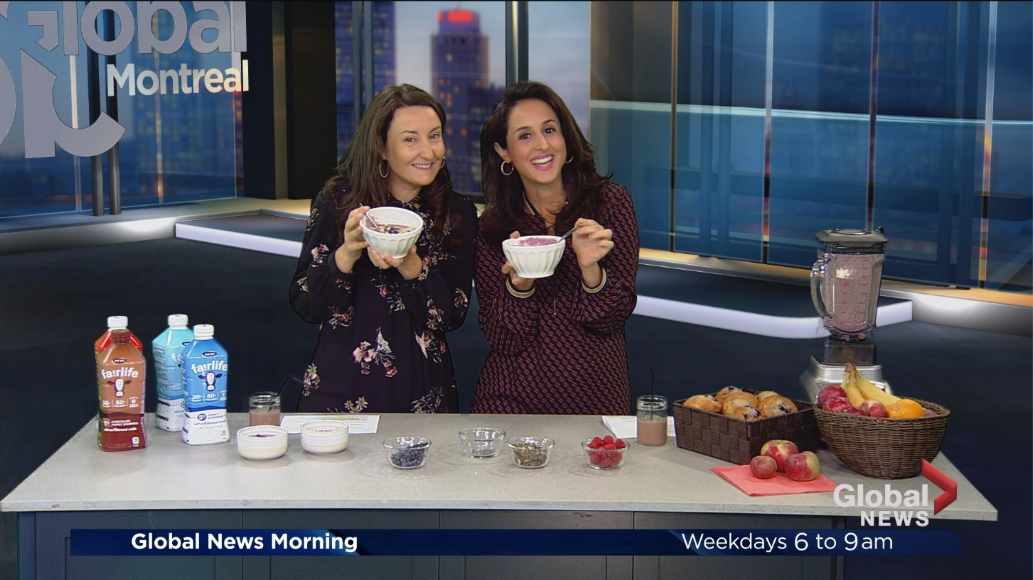 fairlife ultra filtered milk-Smoothie bowl-global Montreal-Jaime Damak-Je suis une maman