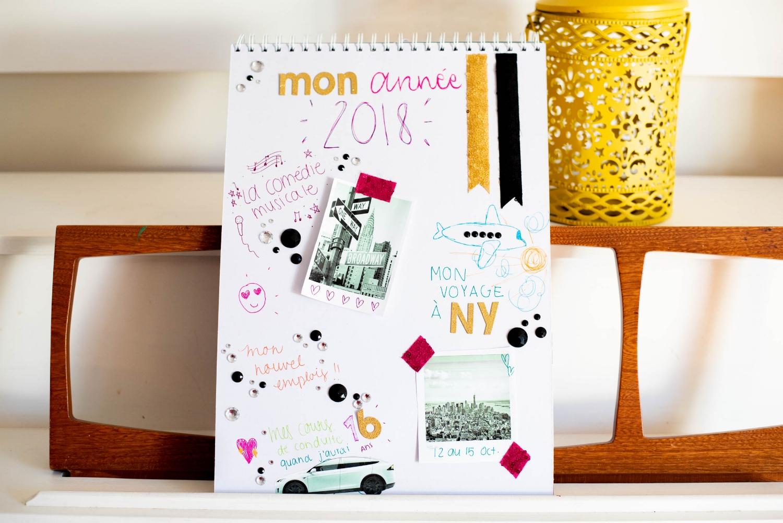 Vision Board-ado-visualisation-objectifs-BIC-arts-Jaime Damalk-Je suis une maman