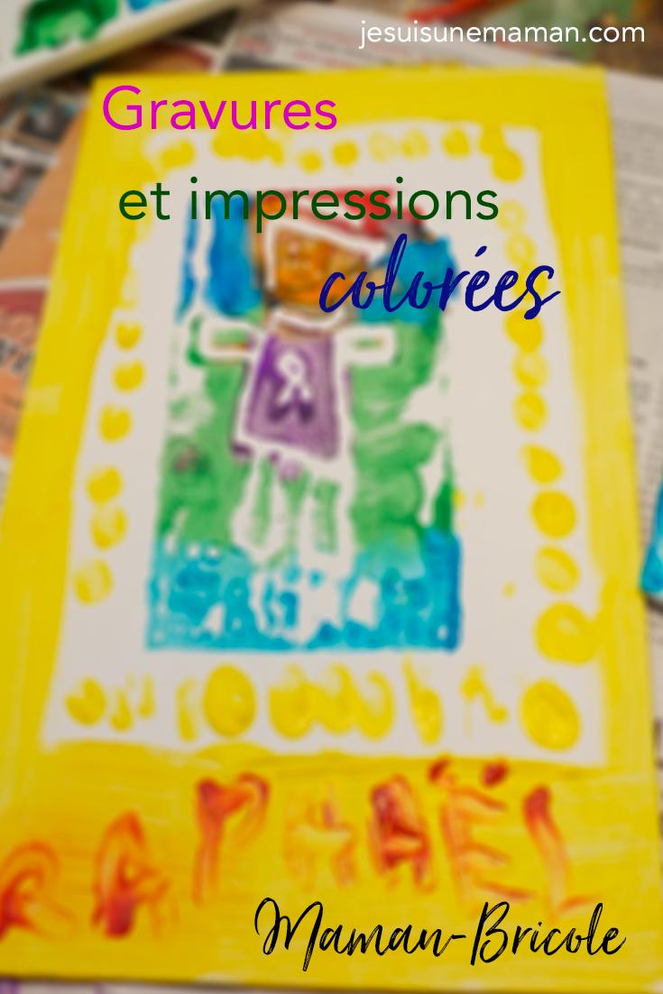 gravures-impression-styromousse-estampes-activités enfants-jeunes-#mamanbricole-MamanBricole