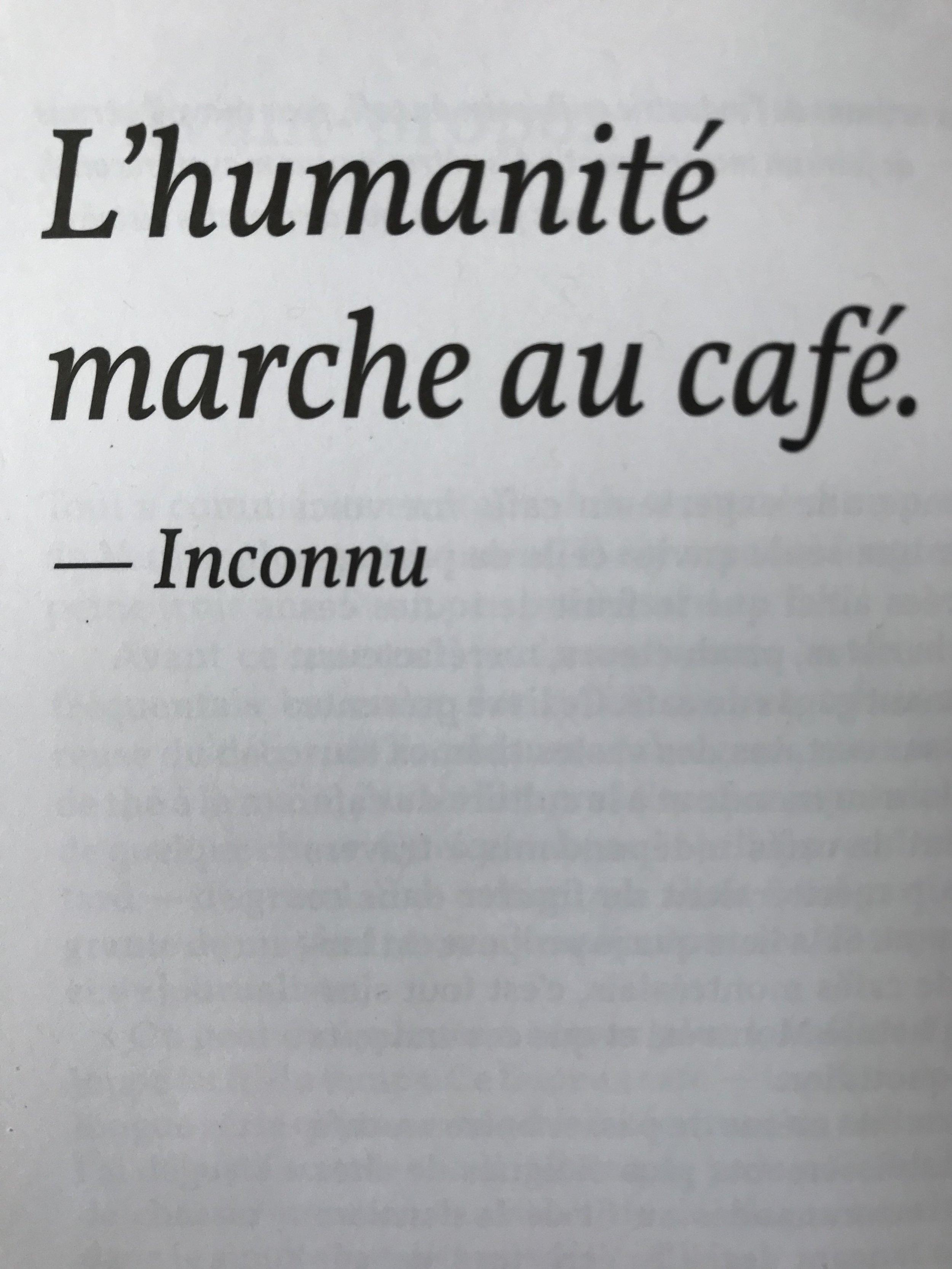 Caféine-livre-café-lecture-idée cadeau-littérature-maman-amateur de café-Je suis une maman