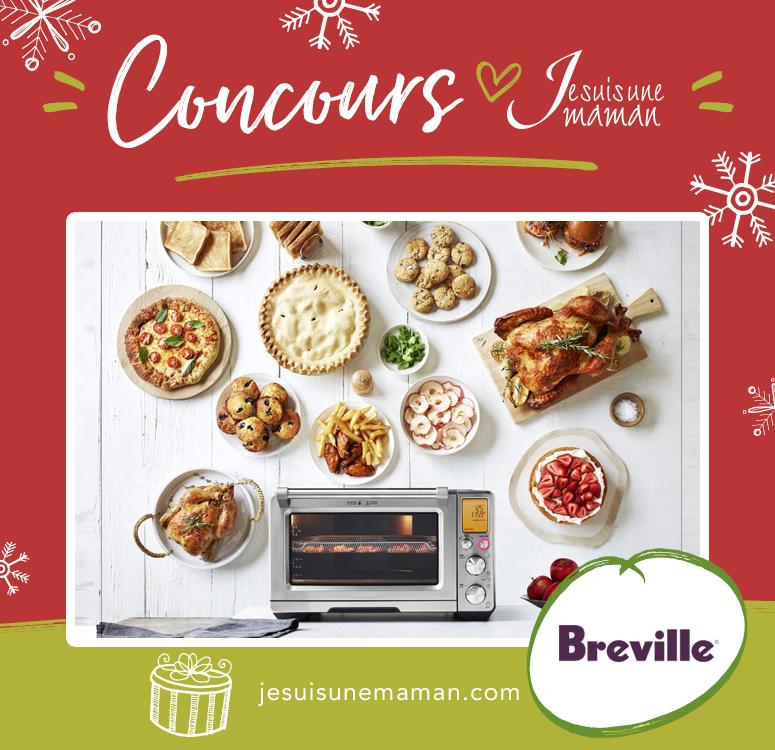 Concours Breville-gagner un Smart Oven Air-cuisine-foodie-Je suis une maman