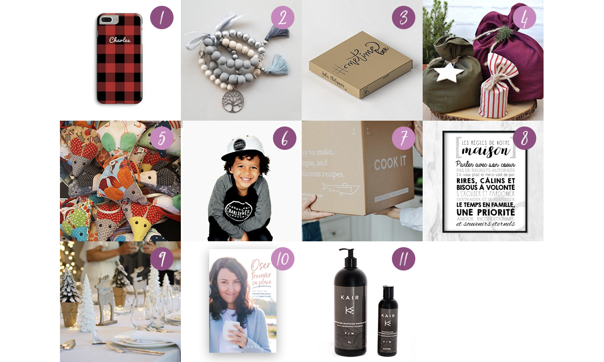 guide cadeaux achat local-fait au Québec-artisans d'ici-pour tous-enfants-famille-maman-Je suis une maman