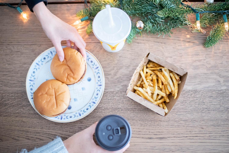 McDo-McDonald's-menu des Fêtes-Fastfood-moka à la menthe poivrée-Fêtes-Noël-Je suis une maman