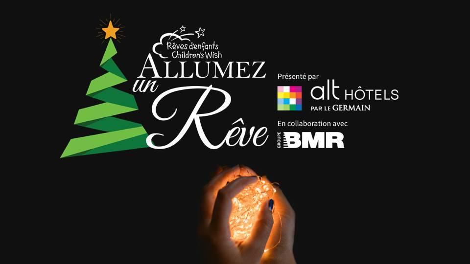 Fondation Rêves d'enfants-soirée spéciale - magie de Noël-Allumez un rêve-événement-hôtel Alt - Je suis une maman