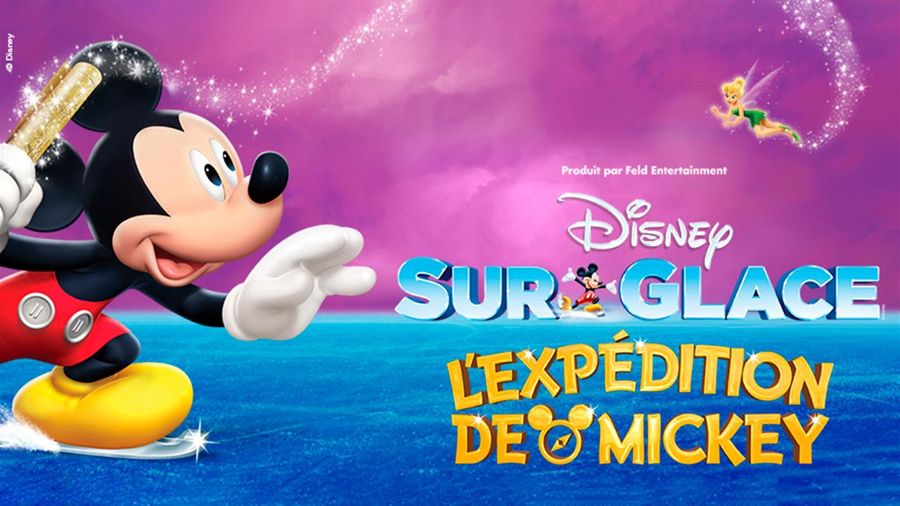 Disney sur glace-sortie en famille-Disney on ice-spectacle-patinage artistique-sortie-enfants-magie de Disney-Je suis une maman