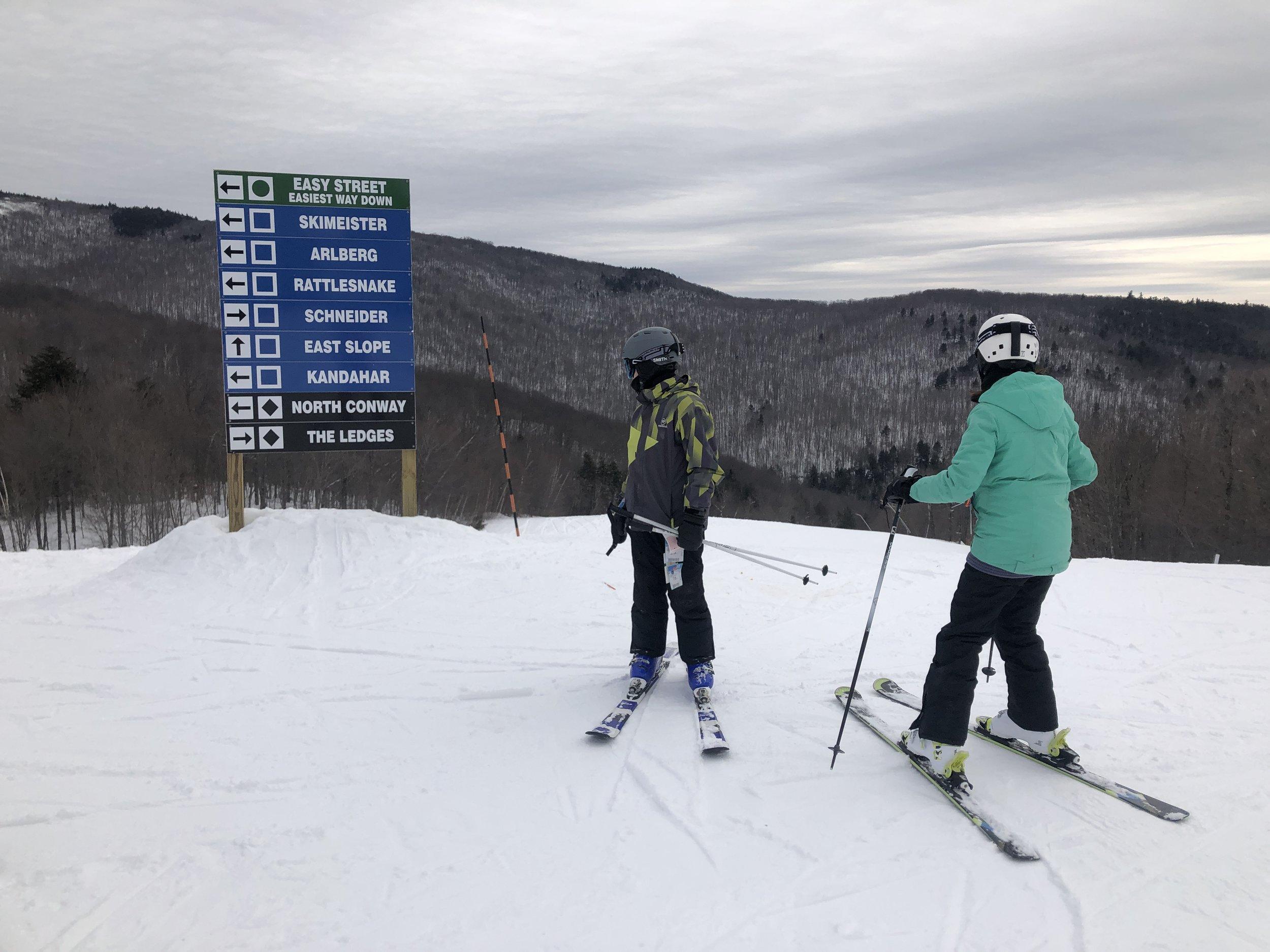 North Conway-voyage de ski- New Hamsphire -voyager-voyager en famille- Je suis une maman