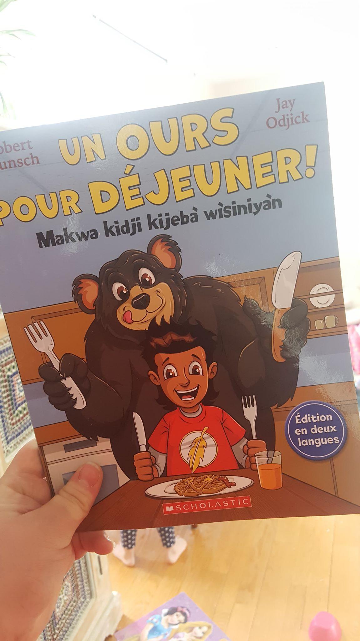 Suggestions lecture-Un ours pour déjeuner-Livre-lire-Albums jeunesse-Robert Munsch-rire-histoire drôle-littérature-Je suis une maman