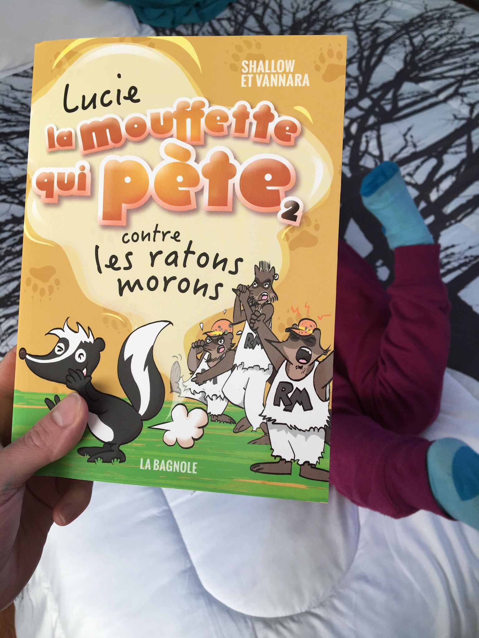 Suggestions lecture-Lucie la mouffette-édition La Bagnole-Livre-lire-Albums jeunesse-Lucie la mouffette qui pète-rire-histoire drôle-littérature-Je suis une maman