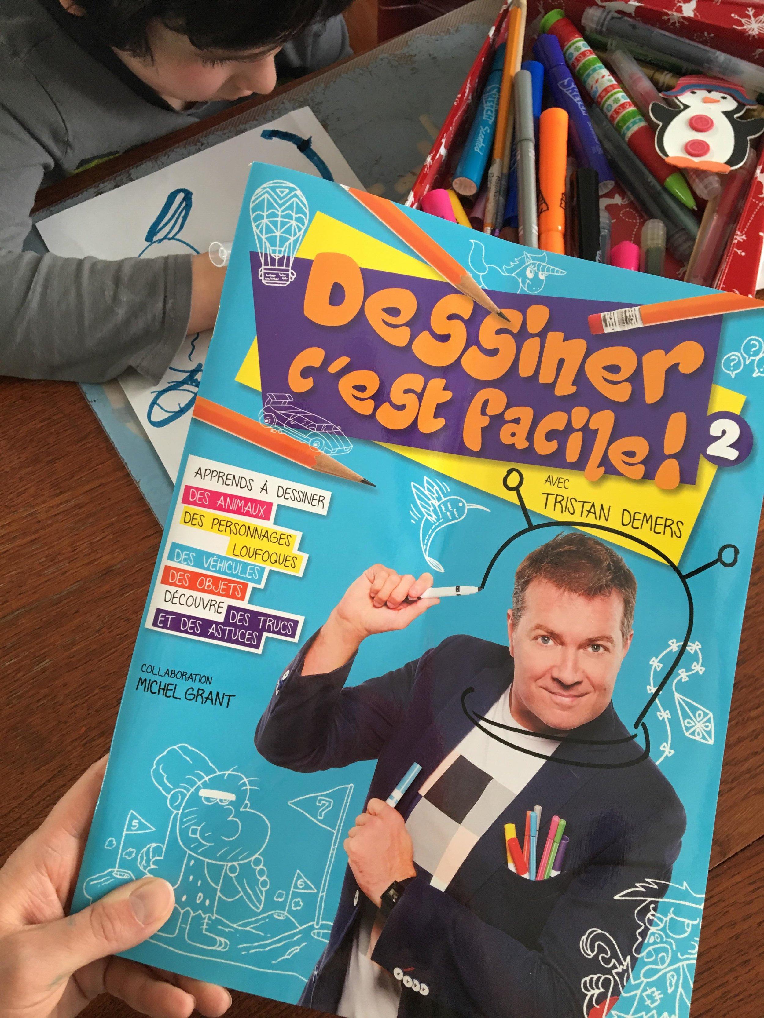 Livre-apprendre à dessiner-Dessiner c'est facile-Tristan Demers-dessin-livre jeunesse-enfant-je suis une maman