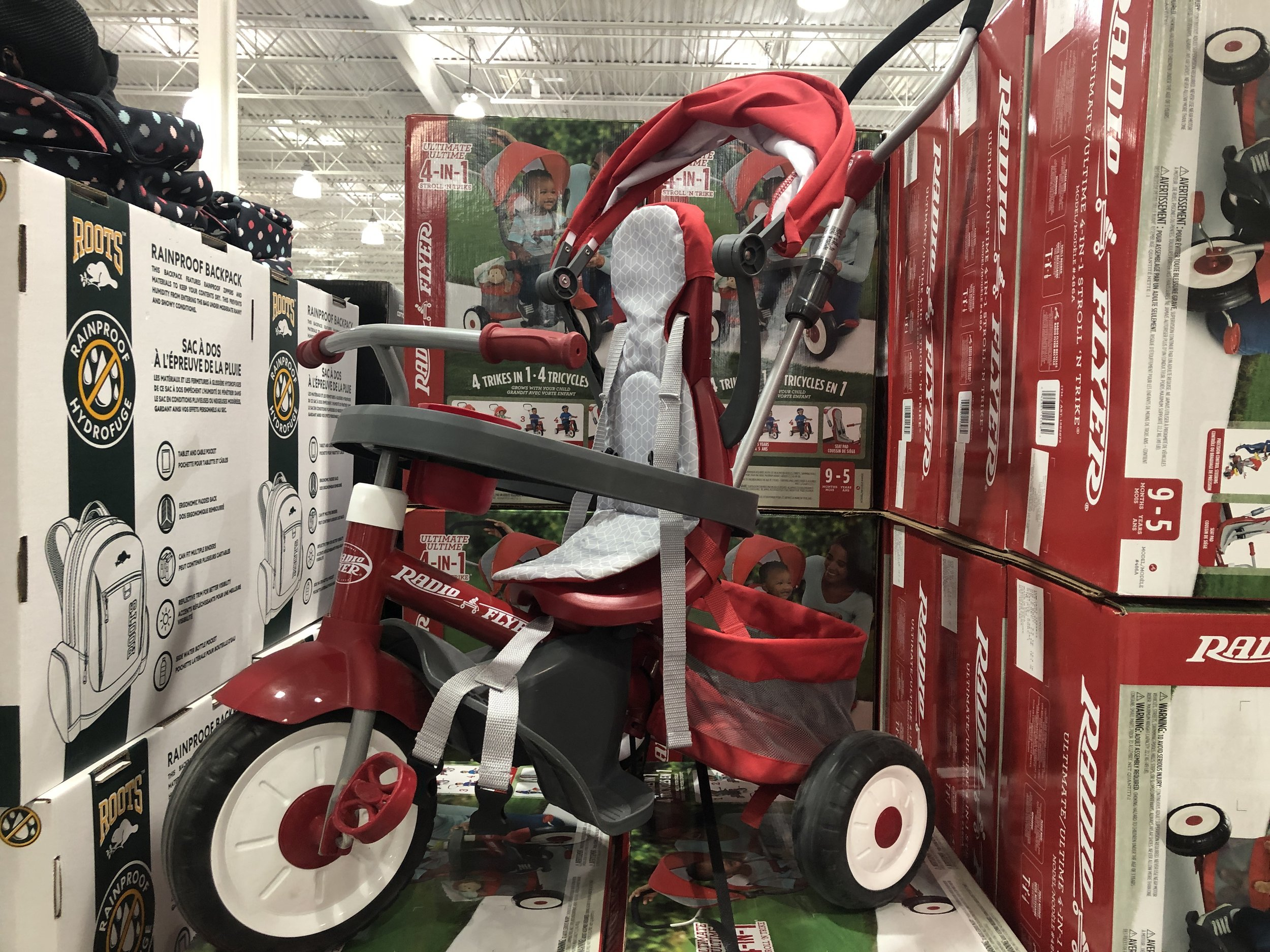 Tricycle - trouvailles Costco-Je suis une maman
