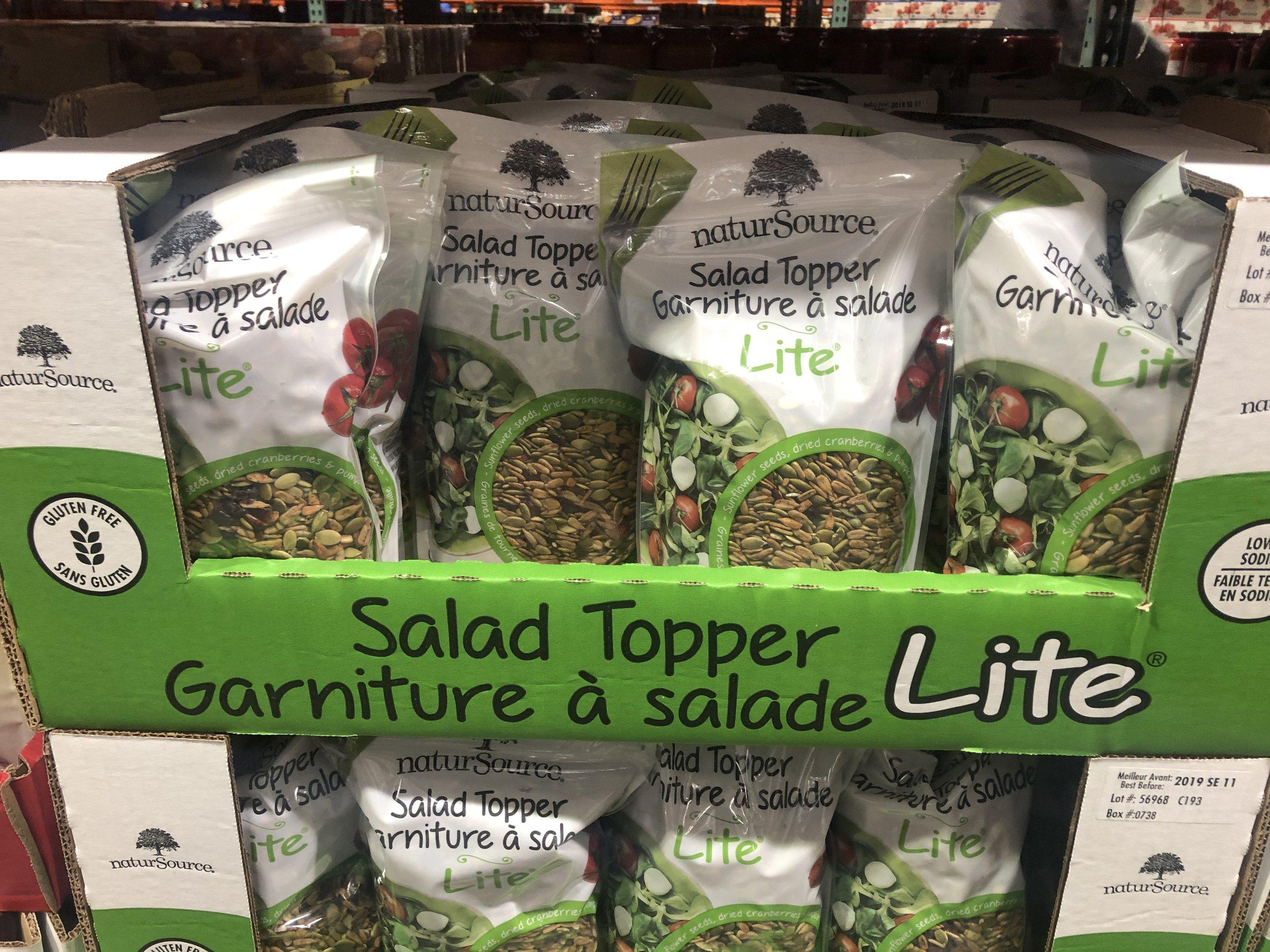 garniture à salade-trouvailles Costco-Je suis une maman