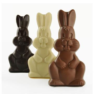 chocolat de Pâques-lapin en chocolat- Lapins de Pâques-chocolaterie-La Cabosse d'Or-Commander en ligne-Je suis une maman