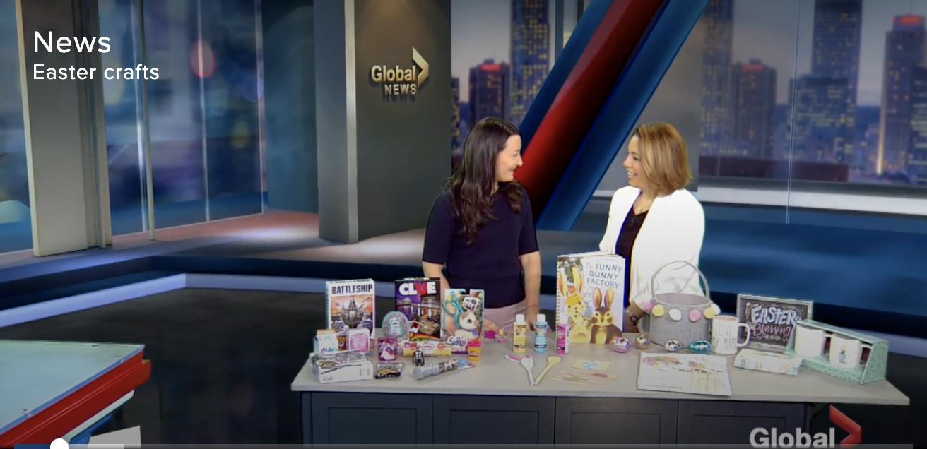 tv segment -Global halifax-Global Montreal-Jaime Damak-Je suis une maman