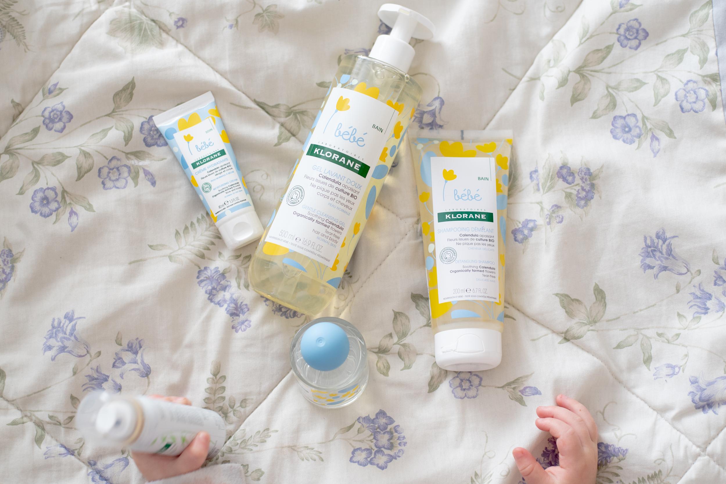 Klorane bébé-produits naturels-soin-heure du bain-produits doux pour bébé-famille-Je suis une maman-concours