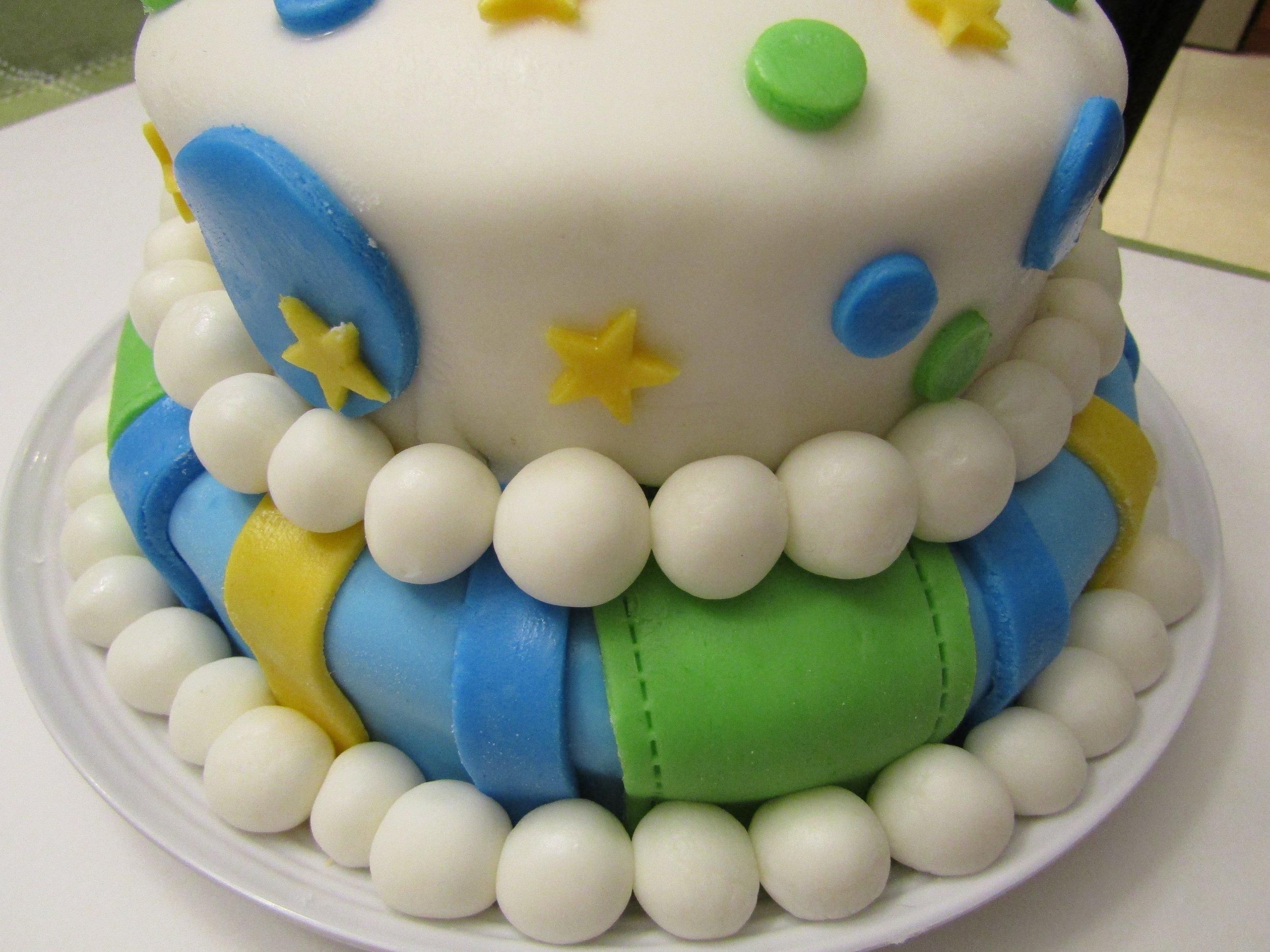gâteau-maison-fête-enfant-joli-facile-etoiles