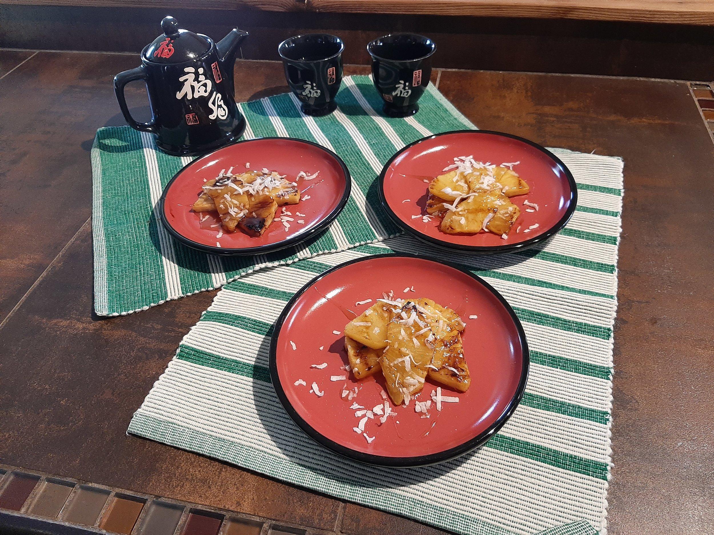 ananas-grillé-bbq-dessert-estival-été-simple-noix-de-coco