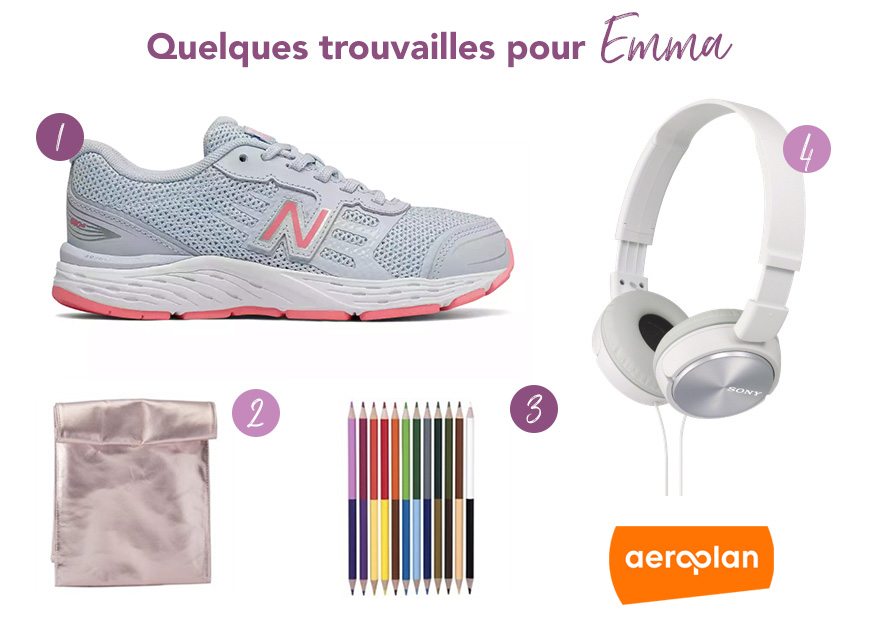 Aeroplan - Net Boutique - Rentrée scolaire - Back to school - Promo