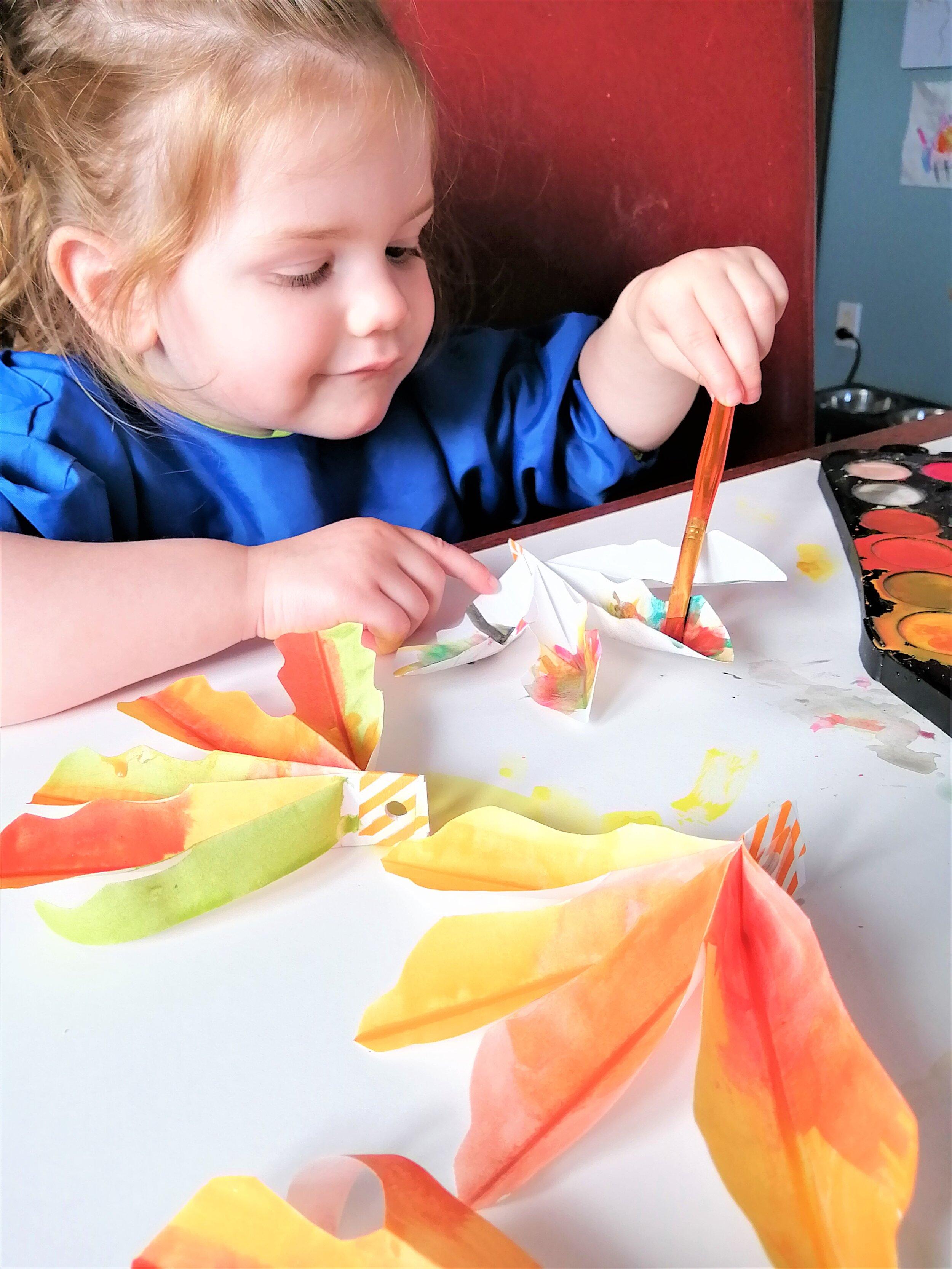 peindre-peinture-eau-orange-jaune-vert-bricolage-décoration