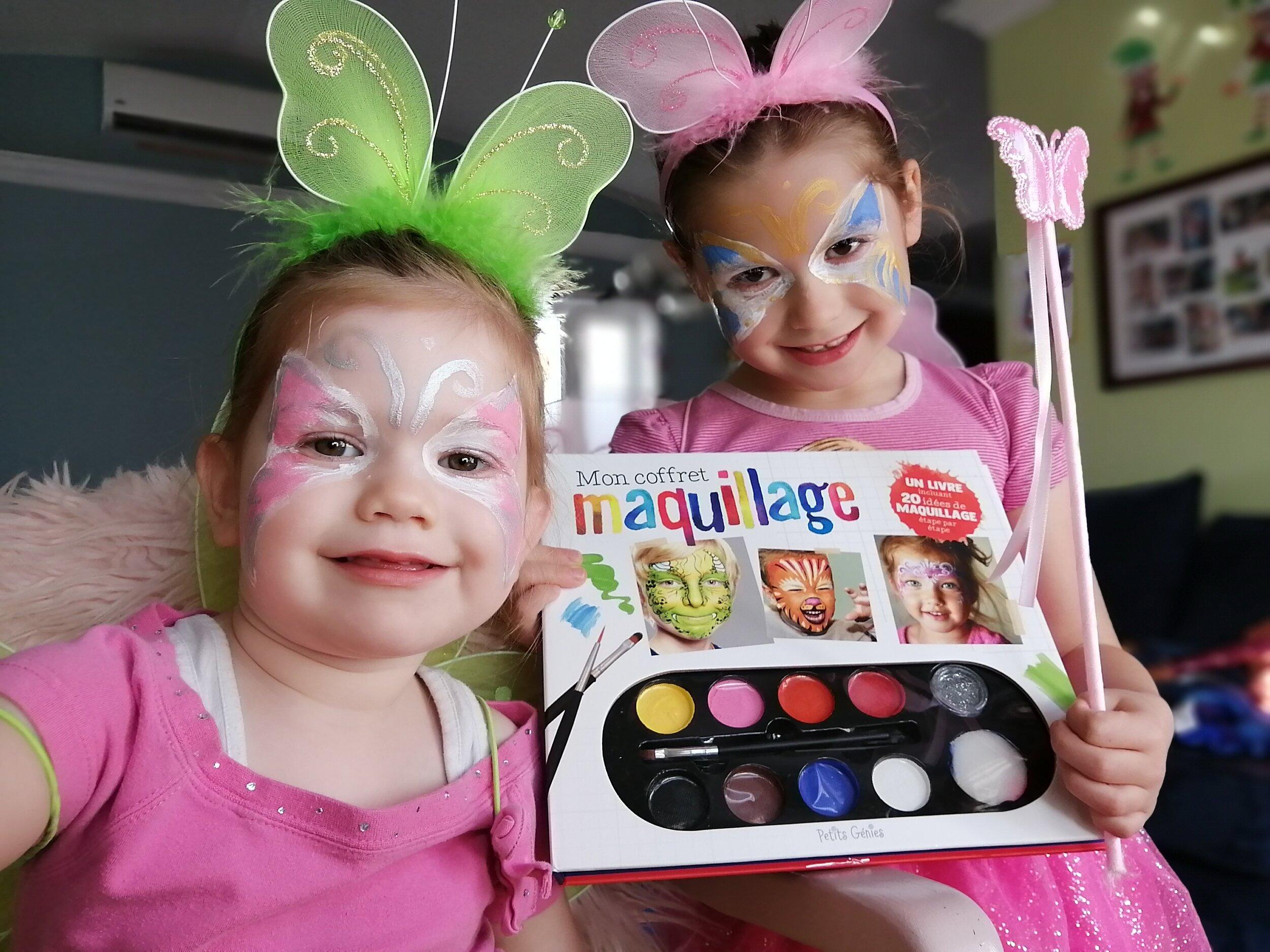 livre-Halloween-maquillage-étape-par-étape-20-idées-maquillage-inclus-Petits-Génies