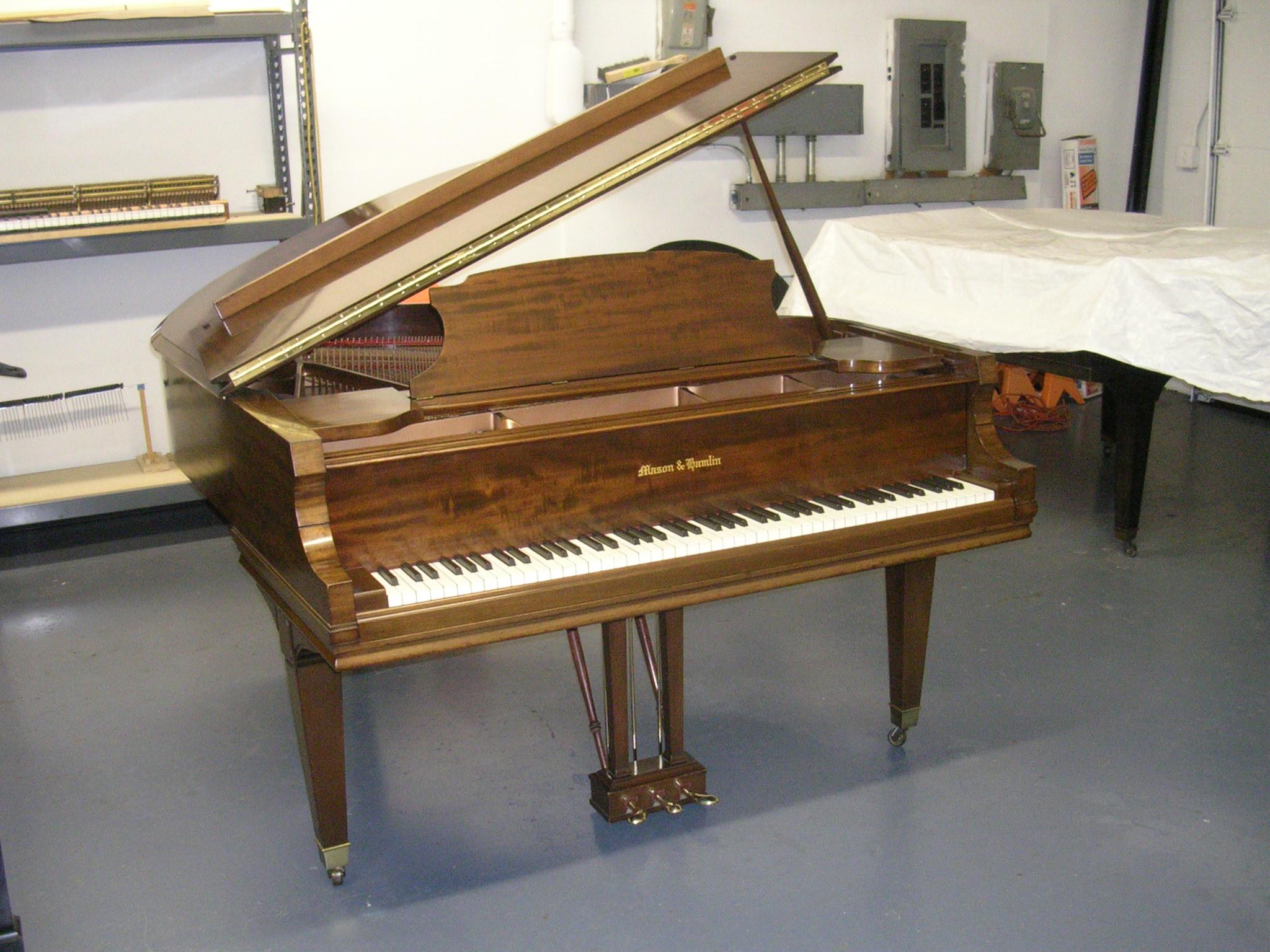 Restored Vintage Mason & Hamlin model A.