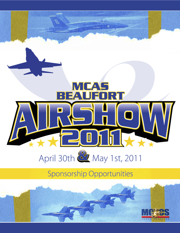Beaufort Air Show 2011   | Beaufort, SC  30-Page Sponsorship Guide design and layout