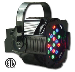 And RGB LED fixture. Photo: Elation Lighting Inc.
