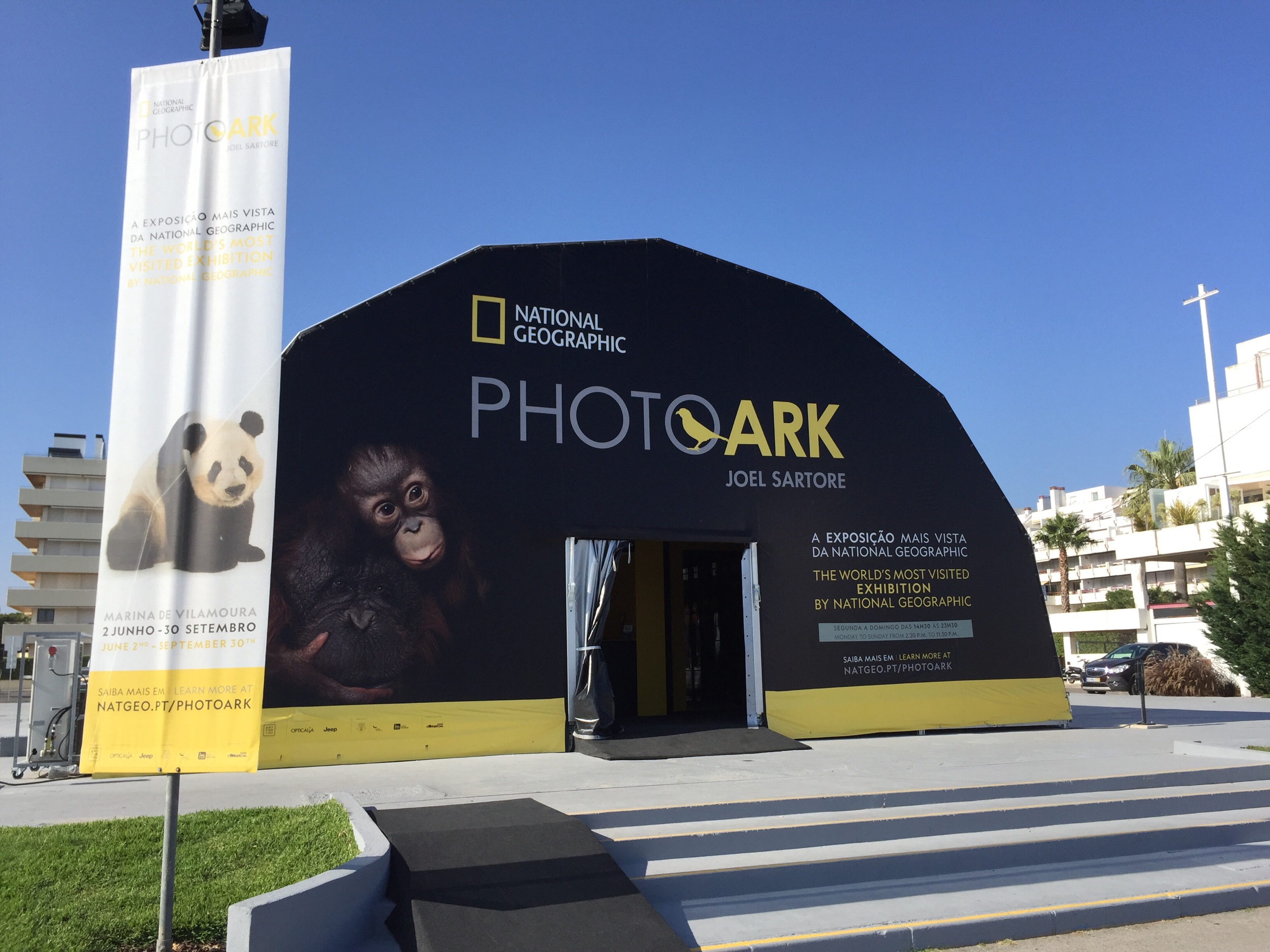 Photo Ark pop up Vilamoura Portugal