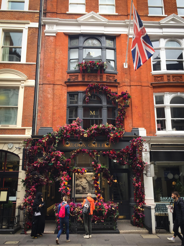 Maddow Gallery, Mayfair, London.