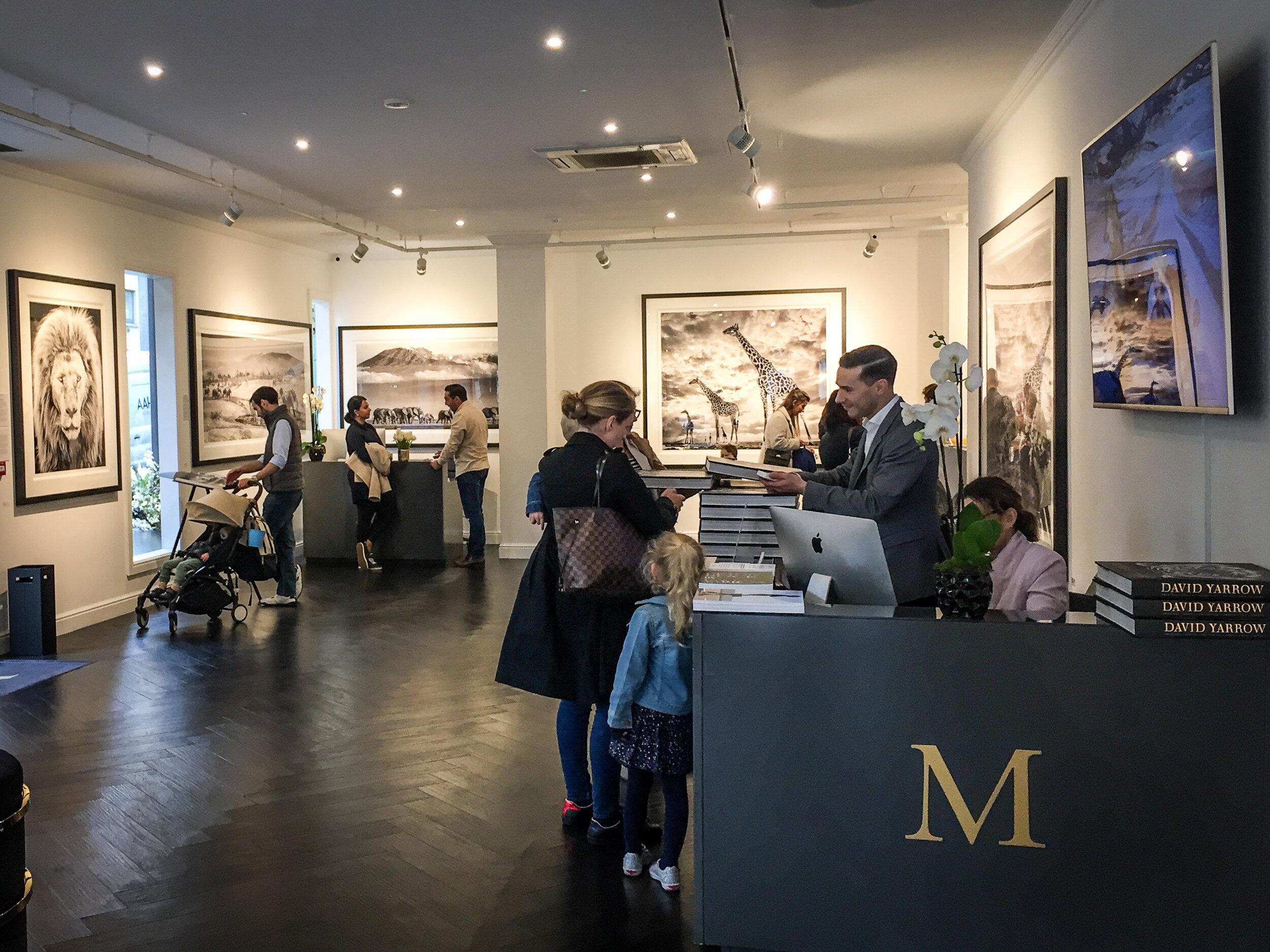 Maddox Gallery, NottingHill, London.