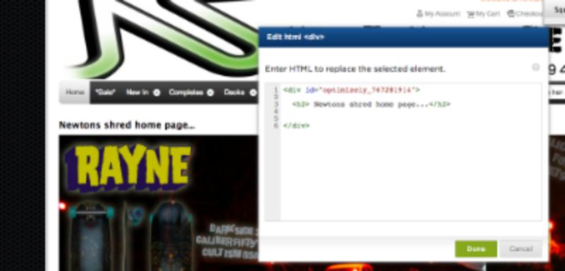 Adding HTML