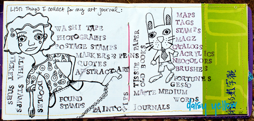 The List Journal Project: Things I Collect for my Art Journal