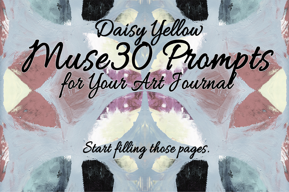 A series of 30 creative prompts, typically a single word or phrase. Each prompt includes ideas & insights for interpretation. Start with  Muse30 #1: Print .