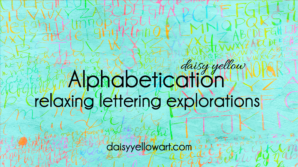 Alphabetication, relaxing lettering explorations with a dip pen. #alphabet #handlettering #dippen