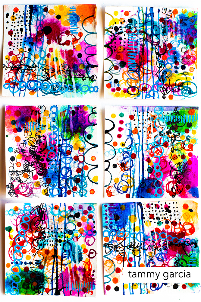 Ink abstract by Tammy Garcia, https://daisyyellowart.com