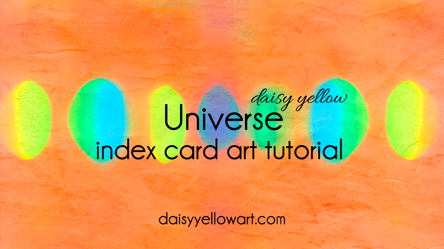 Tutorial:  Universe acrylic painting technique .