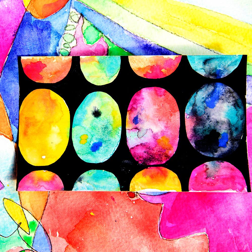 Universe tutorial by Tammy Garcia https://daisyyellowart.com