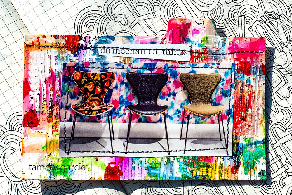 Collage by Tammy Garcia https://daisyyellowart.com