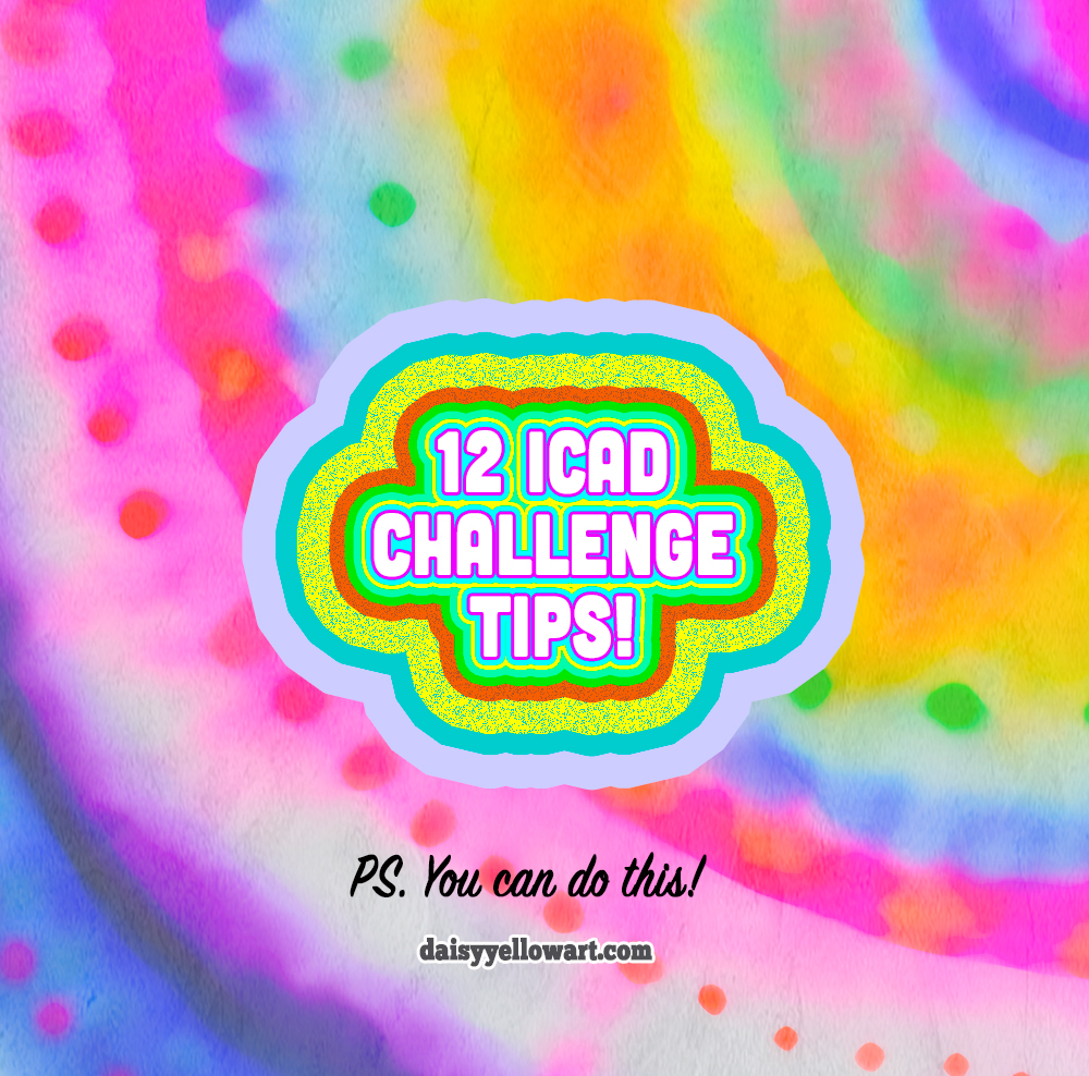 12 Tips for the Index-Card-a-Day Challenge https://daisyyellowart.com
