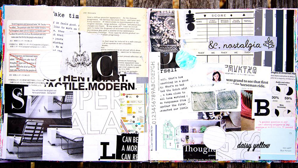 Mixed media art journaling workshop https://daisyyellowart.com