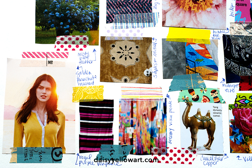 Daisy Yellow art journal workshop https://daisyyellowart.com
