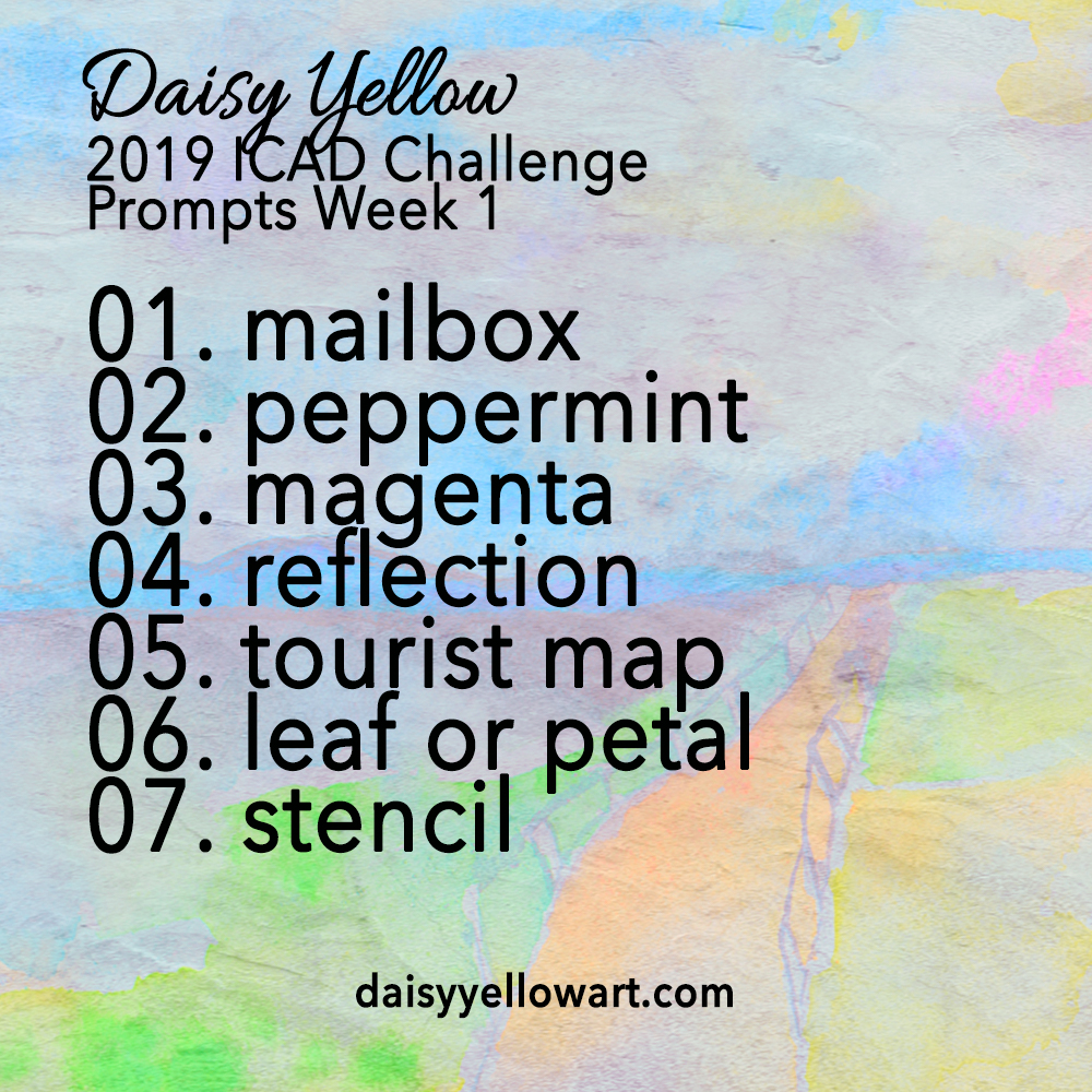 Daily Prompts ICAD 2019 Week One